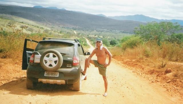 estrada de chão, Chapada
