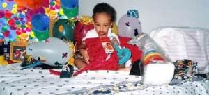foto, peuzinho, 01 ano, balões