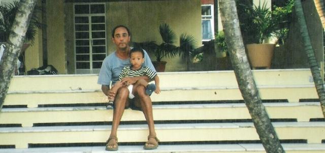 foto, peuzinho e pai, Garibaldi
