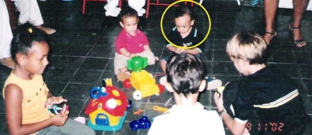 foto Peuzinho e primos, 01 aninho