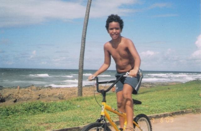 peu, bicicleta -