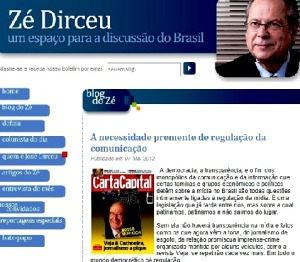 zé dirceu, carta capital