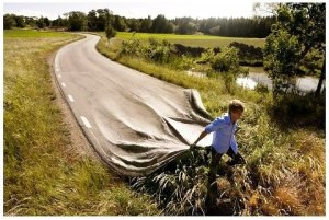 estrada falsa, ENEIDA, facebook