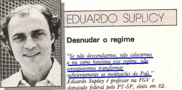 Retrato do Brasil, Eduardo