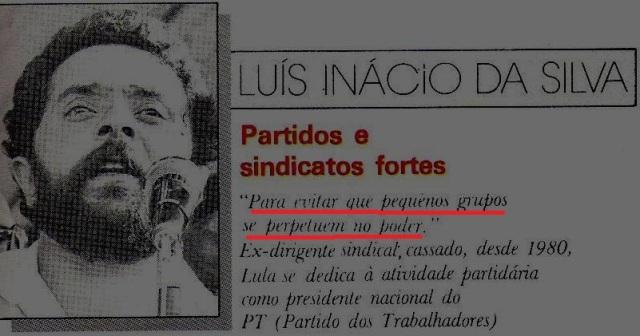 RETRATOS DO BRASIL, Lula