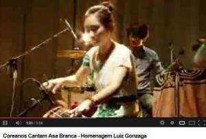 coreanos cantam Gonzaga