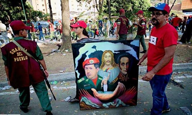 VEJA, CHAVES, guarda del povo