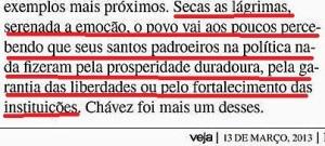 VEJA, EDITORIAL, Chaves 2