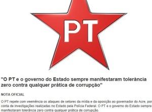 PT, TIÃO VIANA, TOLERÂNCIA 0