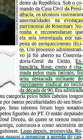 RAINHA ROSE, veja 2013, 2