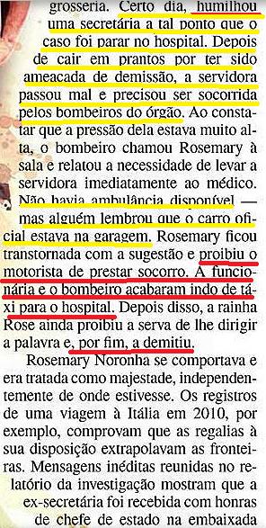 RAINHA ROSE, veja 2013, 4