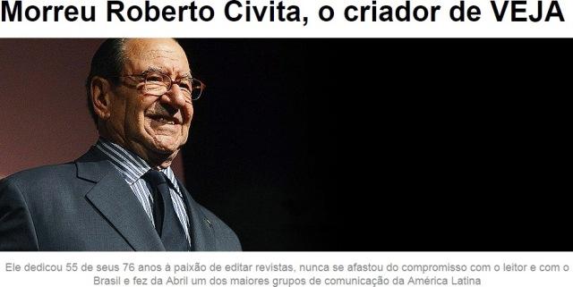 victor civita morre