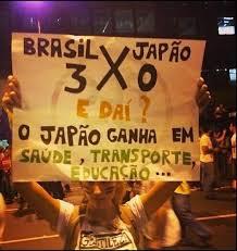 manfstações, BRASIL 3, JAPÃO 0