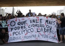 manifestaçoes, BRASIL MOSTRA CARA
