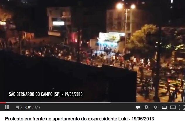 PROTESTO, S. BERNARDO, LADRÃO