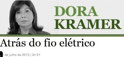 DORA KRAMER, ATRÁS