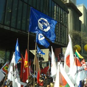 PCdoB, Une, s. Paulo protesto