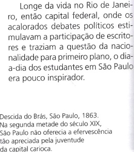 S. PAULO, ALVARES DE AZEVEDO , TEXTO