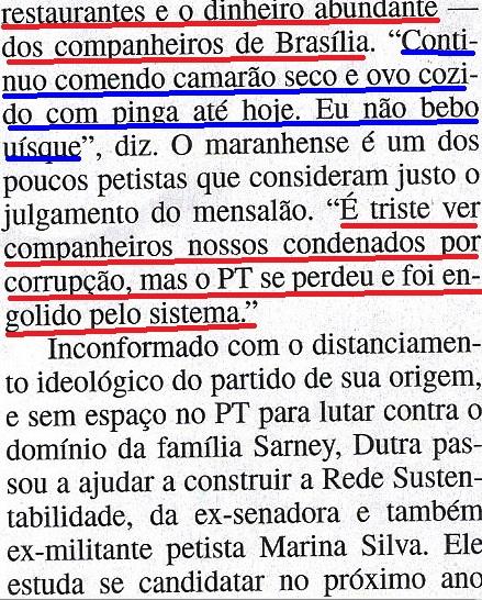 Domingos Dutra, Lula, Veja 14ago2013, 5