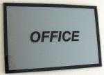 MODERN LIVING, OFFICE placa