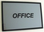MODERN LIVING, OFFICE placa