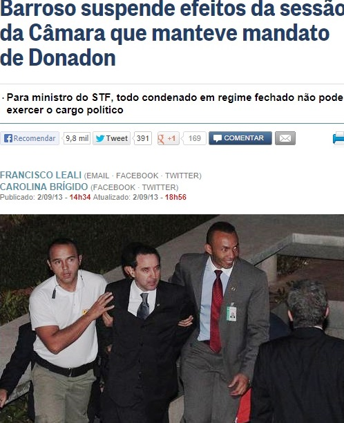 stf, donadon