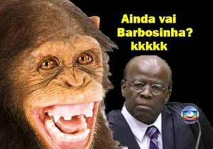 blog da dilma, Barbosa, macaco