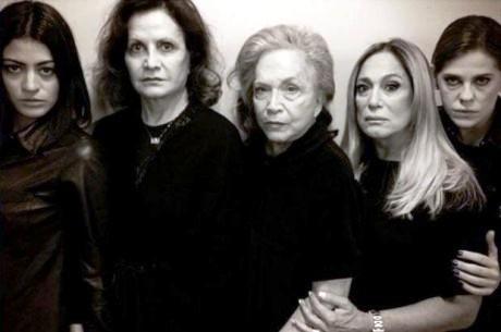 atrizes de luto
