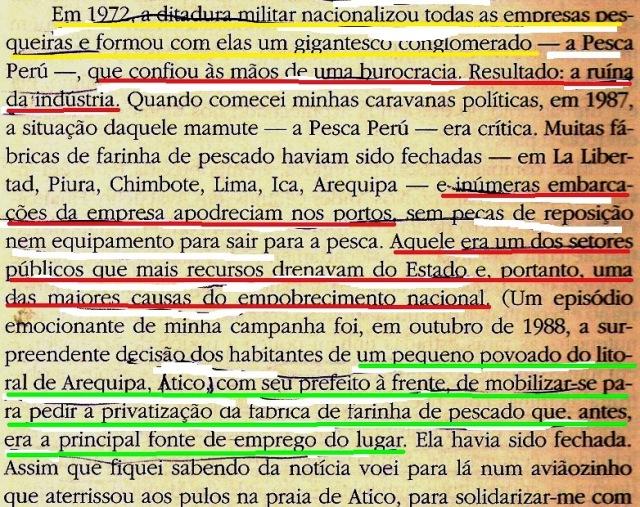 Llosa, Vargas, Peixe na água, fl215