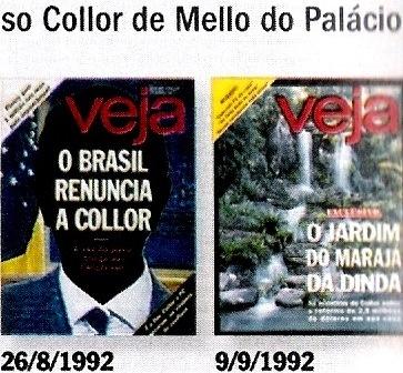 VEJA, 45 ANOS, A QUEDA DE COLLOR 3
