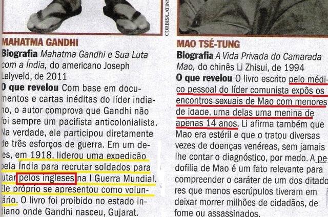 Veja, MAO, GANHDI, 23out13