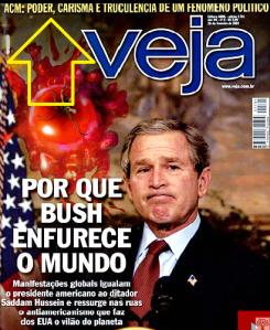bush na capa de veja