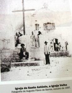 Canudos, Igreja, foto antiga
