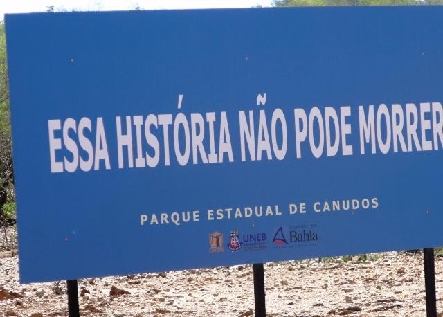 Canudos, parque, História