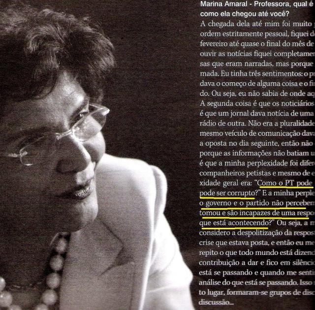 cAROS aMIGOS, mARILENA CHAUÍ1