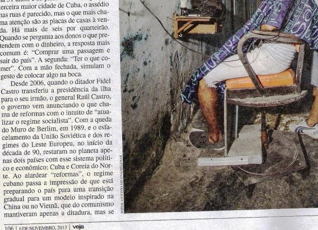 CUBA, 1.b,VEJA ESPECIAL DE 06NOV13 - Cópia