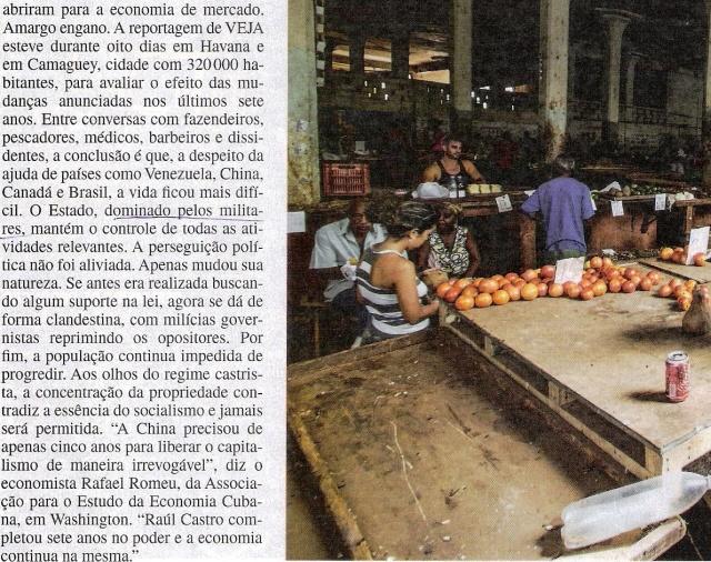 CUBA, 4,VEJA ESPECIAL DE 06NOV13
