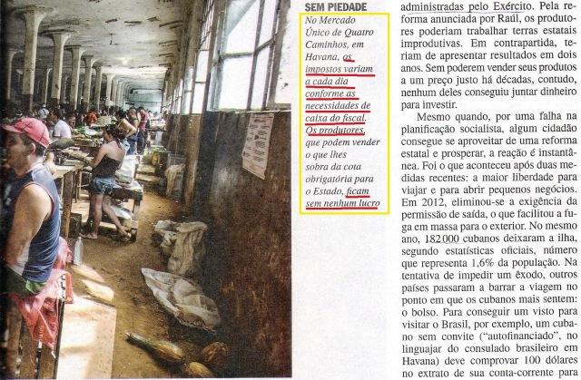 CUBA, 5,VEJA ESPECIAL DE 06NOV13