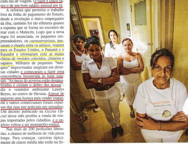 CUBA, 7,VEJA ESPECIAL DE 06NOV13