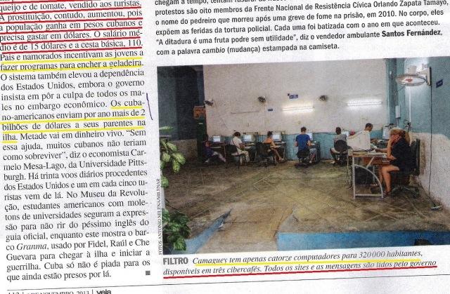 CUBA, 9,VEJA ESPECIAL DE 06NOV13 - Cópia