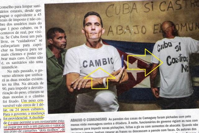CUBA, 9,VEJA ESPECIAL DE 06NOV13
