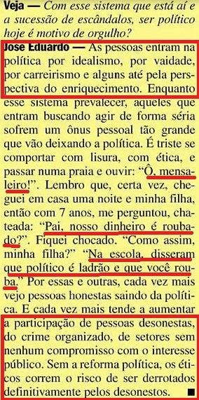 mensalão, josé e. cardoso, amarelas, veja, 16fev08 XIX