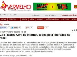 pcdob, CTB, liberdade de expressão