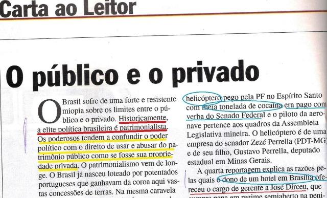 Veja, 04dez13, editorial 1