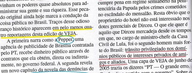 Veja, 04dez13, editorial 3
