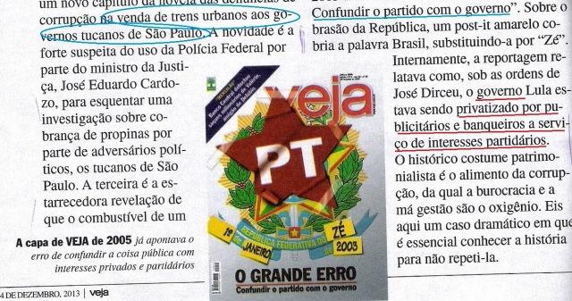 Veja, 04dez13, editorial2