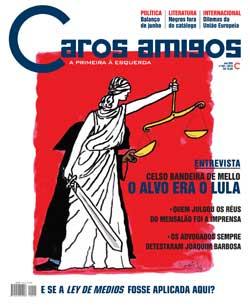 CAROOS AMIGOS, CAPA CELSO BANDEIRA