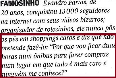 Rolezinho, veja 22jan14, 2