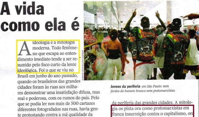 Rolezinho, veja 22jan14, EDITORIAL