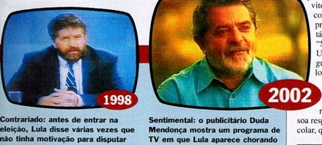 Veja e lula, 22maio02, 1998 E 2002